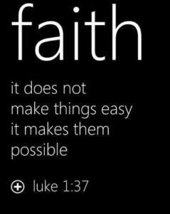 Daily Motivation about faith